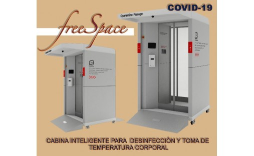 CABINA DE DESINFECCION